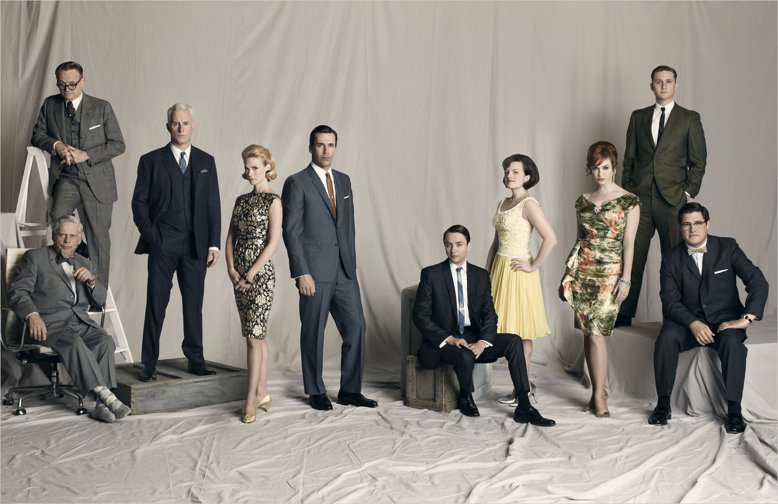 Mad Men is an American period drama television series created by Matthew Weiner and produced by Lionsgate Television. The series premiered on July 19, in which users submit photos of themselves in Mad Men style and one winner receives the opportunity for a walk-on role in an upcoming season.